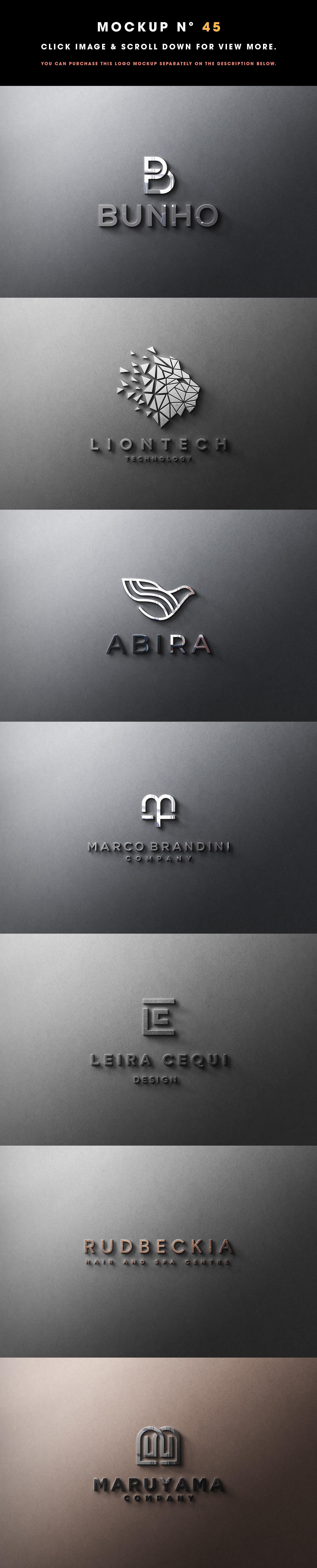 Мокап – 50 Logo