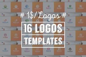 16 Logos Templates - v2