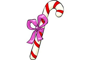 Christmas candy cane