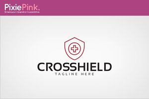 Cros Shield Logo Template