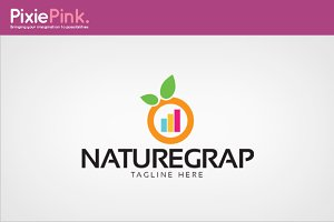 Nature Grap Logo Template