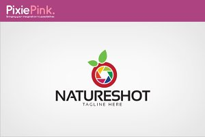 Nature Shot Logo Template