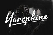 Yorephine - Lettering Script Font