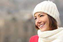 Candid girl with white teeth and smile in winter.jpg