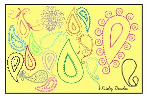 Paisley Brushes