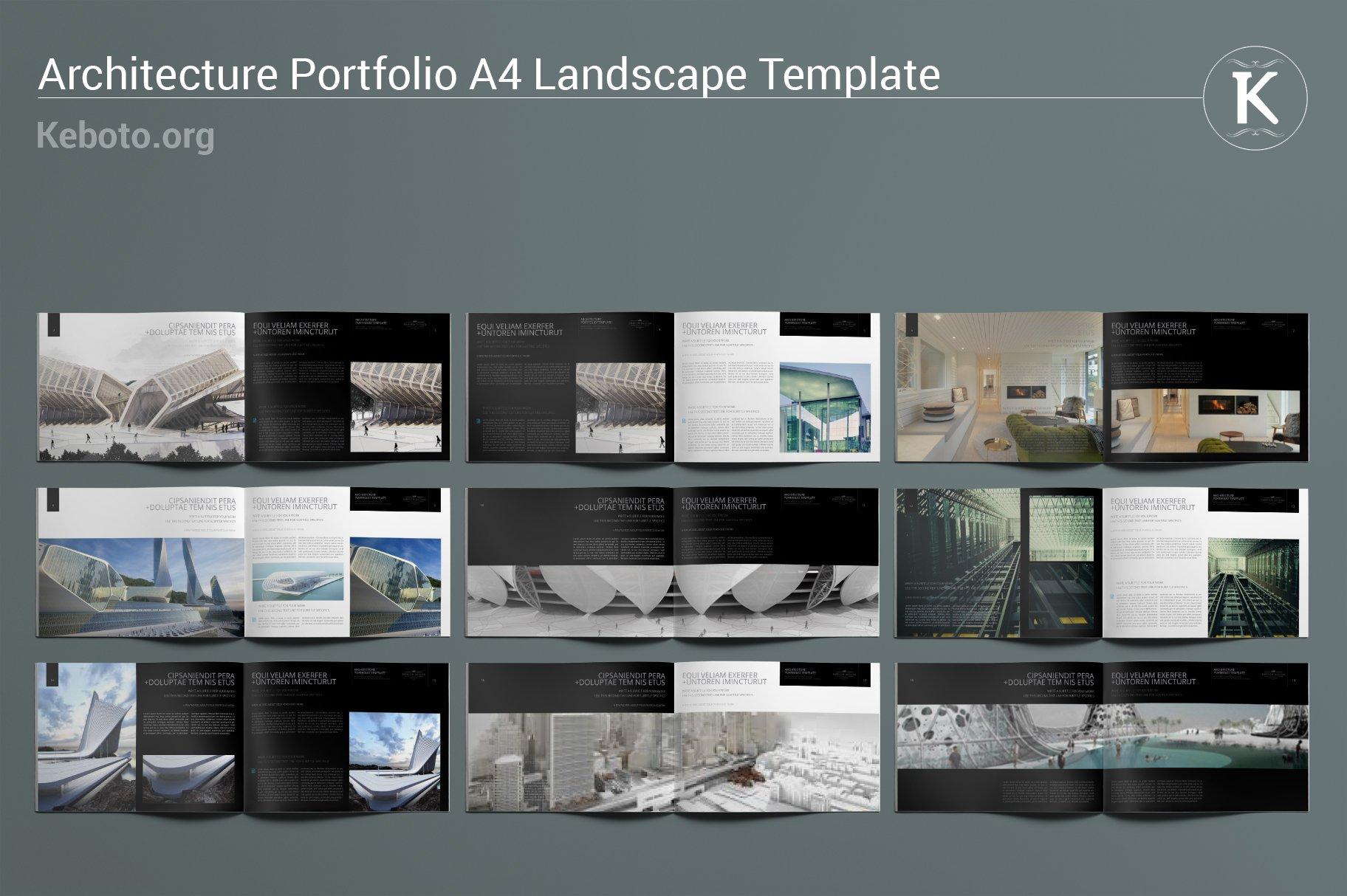 Architecture Portfolio A20 Landscape