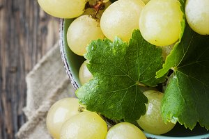 Yellow sweet grape