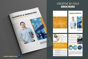Corporate Bifold Brochure Vol 10