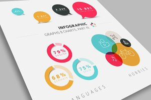 Flat Infographic Graphs & Charts