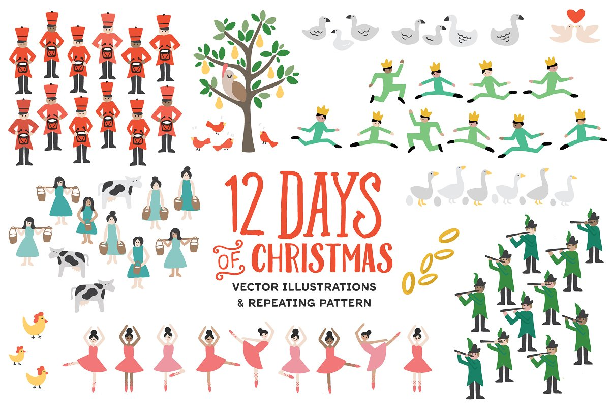 Twelve Days of Christmas | Custom