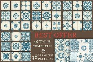 Tile Templates & Seamless Patterns