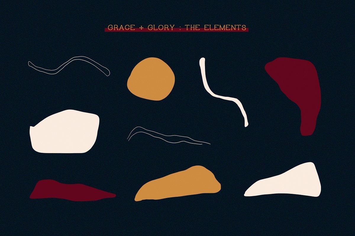 Grace + Glory | Minimal Serif