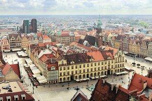 Market Square. Wroclaw, Poland
