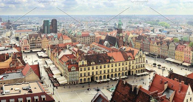 Market Square. Wroclaw, Poland - Architecture