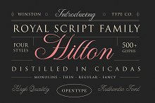 WT Hilton Script