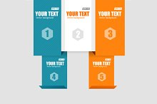 Infographics Options Banner. Vector