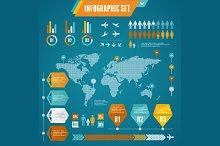 Infographics Elements Set. Vector