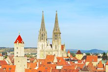 Regensburg Old Town, Germany