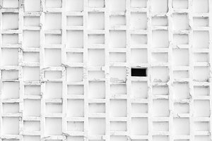 Abstract White Wall Pattern