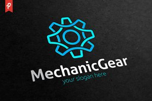 Mechanic Gear Logo