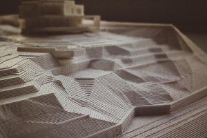 3D Plastic Model of Architecture