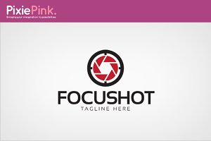 Focus Shot Logo Template