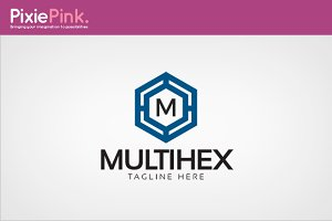Multi Hex Logo Template