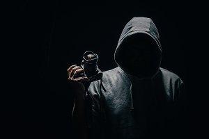 Creepy photographer