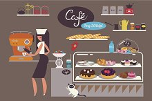 Welcome to Cafe/Png clipart