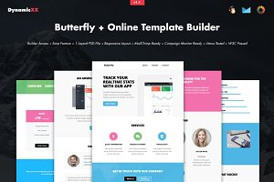 Butterfly + Online Template Builder