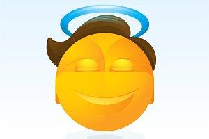 Saint Emoticon