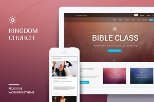 Kingdom Church - WordPress Theme