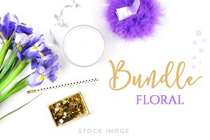 Bundle floral - Stock image photo