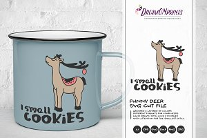 Faithful Friends Hipster Deer Pre Designed Illustrator Graphics Creative Market