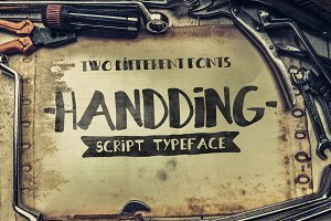 Handding Script [2 Different Fonts]