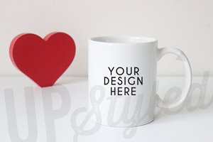 F149 Love Heart Coffee Mug
