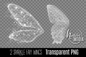 2 Transparent PNG Fairy Wings