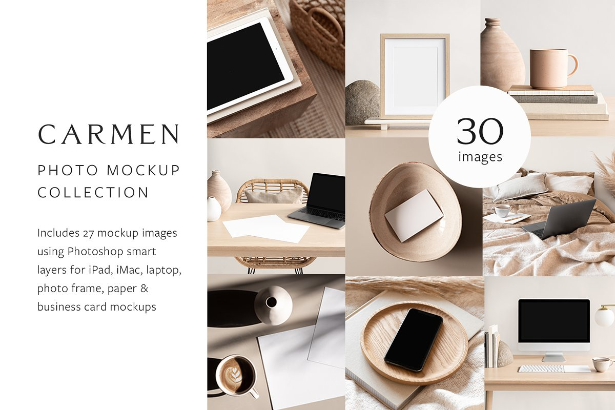 Carmen Photo Mockup Bundle