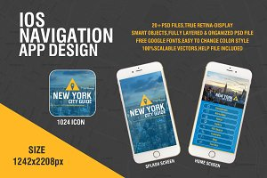 Navigation IOS App Design