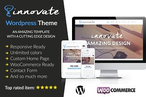Innovate Wordpress Theme