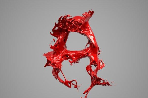 3D Food: Tedi Permana - Splash Liquid Alphabet: A