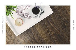 Coffee Tray Set / Hero Image Bundle