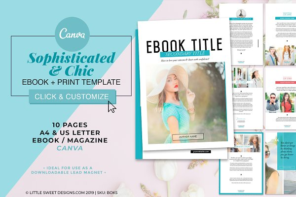 Magazine/eBook Template Canva