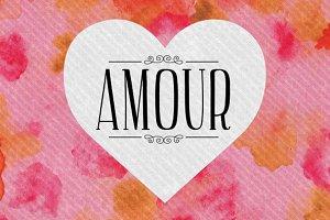 Amour Font