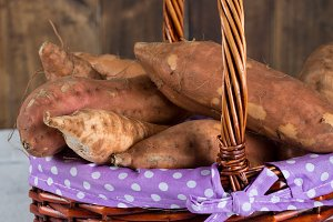 Sweet potatoes season