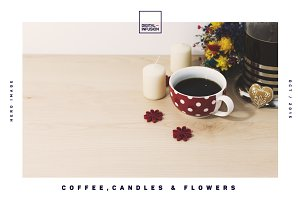 Coffee, Candles & Flowers Hero Image