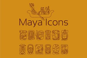 13 HISTORIC ICONS OF MAYA
