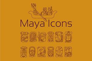 13 HISTORIC ICONS OF MAYA