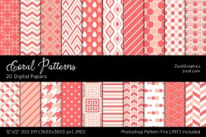 Coral Digital Papers