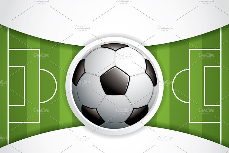 Soccer ball brochure